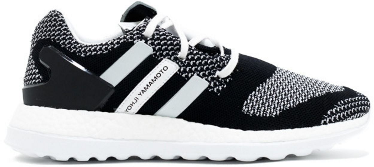 Y3 Pure Boost ZG Knit Core Black