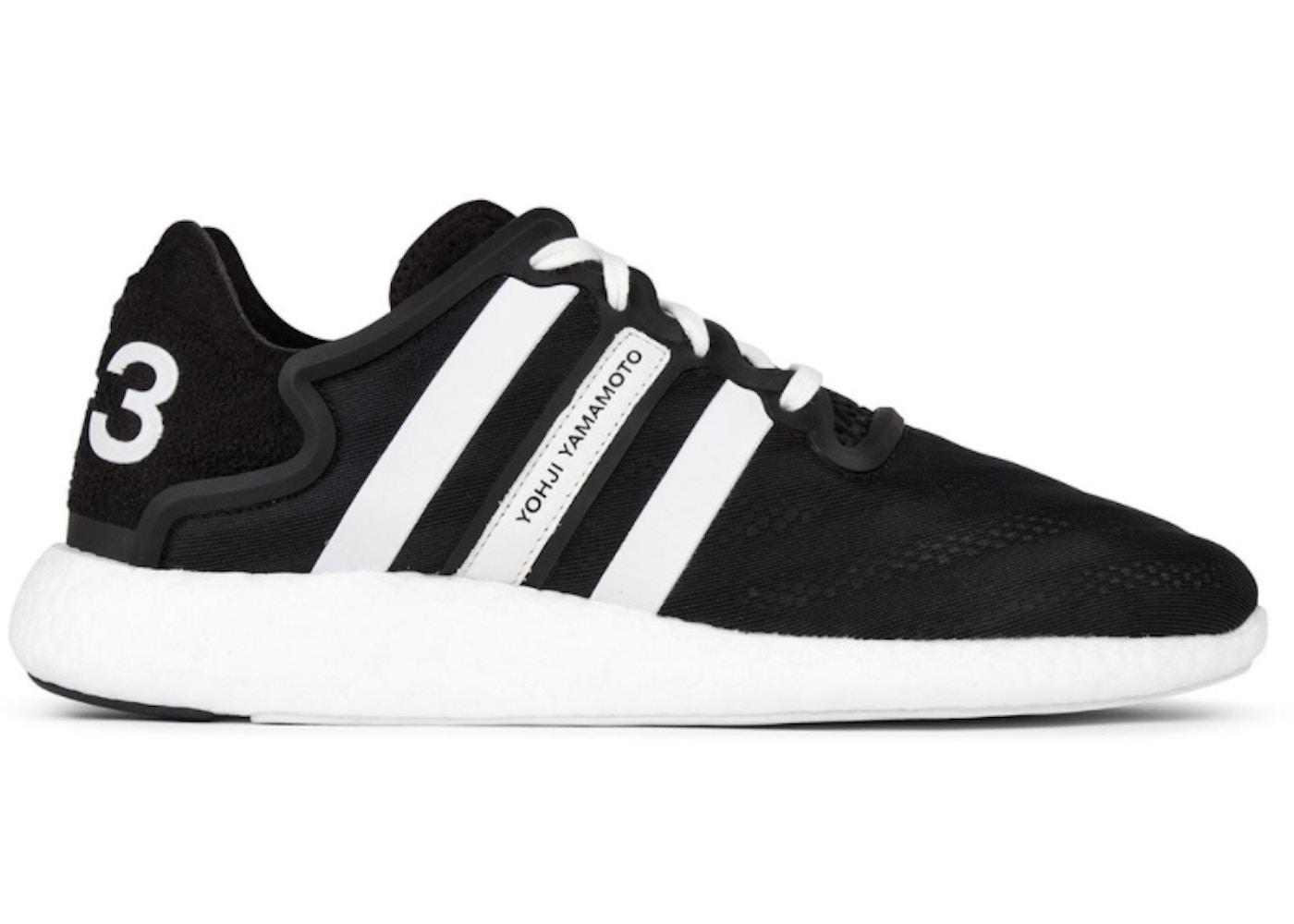 027ccc71d Y3 Run Boost Black White - S82118