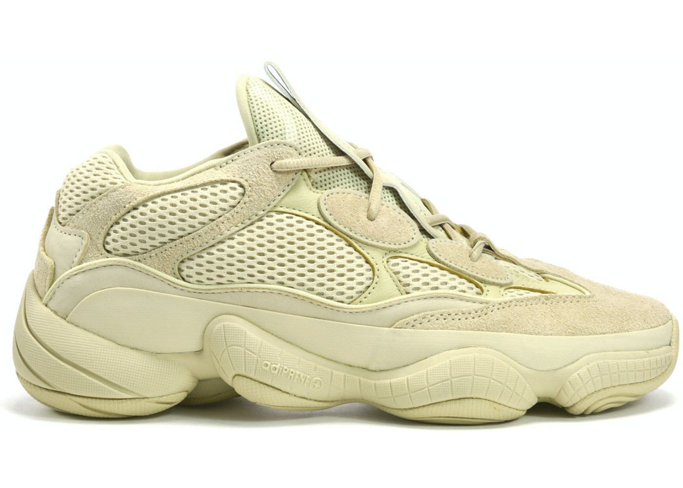more photos cb764 d9f54 adidas Yeezy 500 Desert Rat Super Moon Yellow