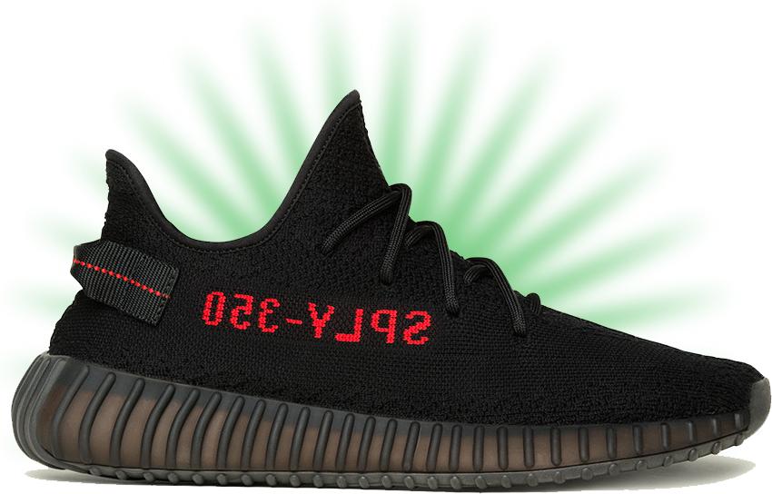 meet d5fb0 dd11d ... new zealand retail promo adidas yeezy boost 350 v2 black red 9e820  f6fce ...