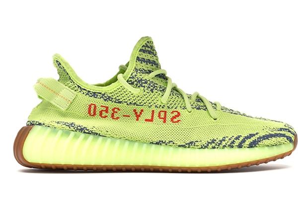95d76f7e1b38 adidas Yeezy Boost 350 V2 Semi Frozen Yellow - B37572