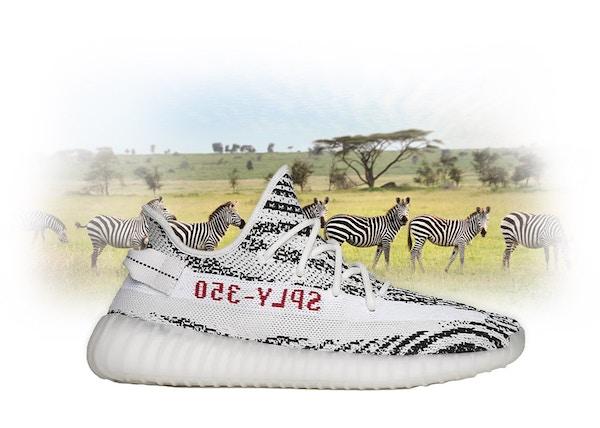 Retail Promo Adidas Yeezy Boost 350 V2 Zebra Cp9654