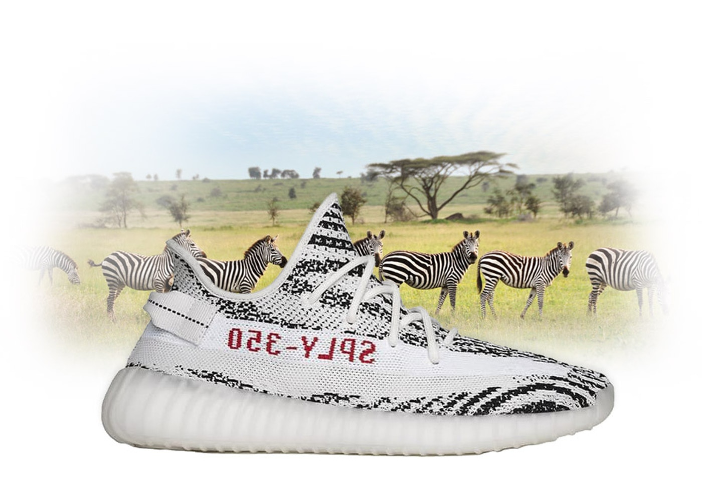 Retail Promo adidas Yeezy Boost 350 V2 Zebra - CP9654 2a2aba913