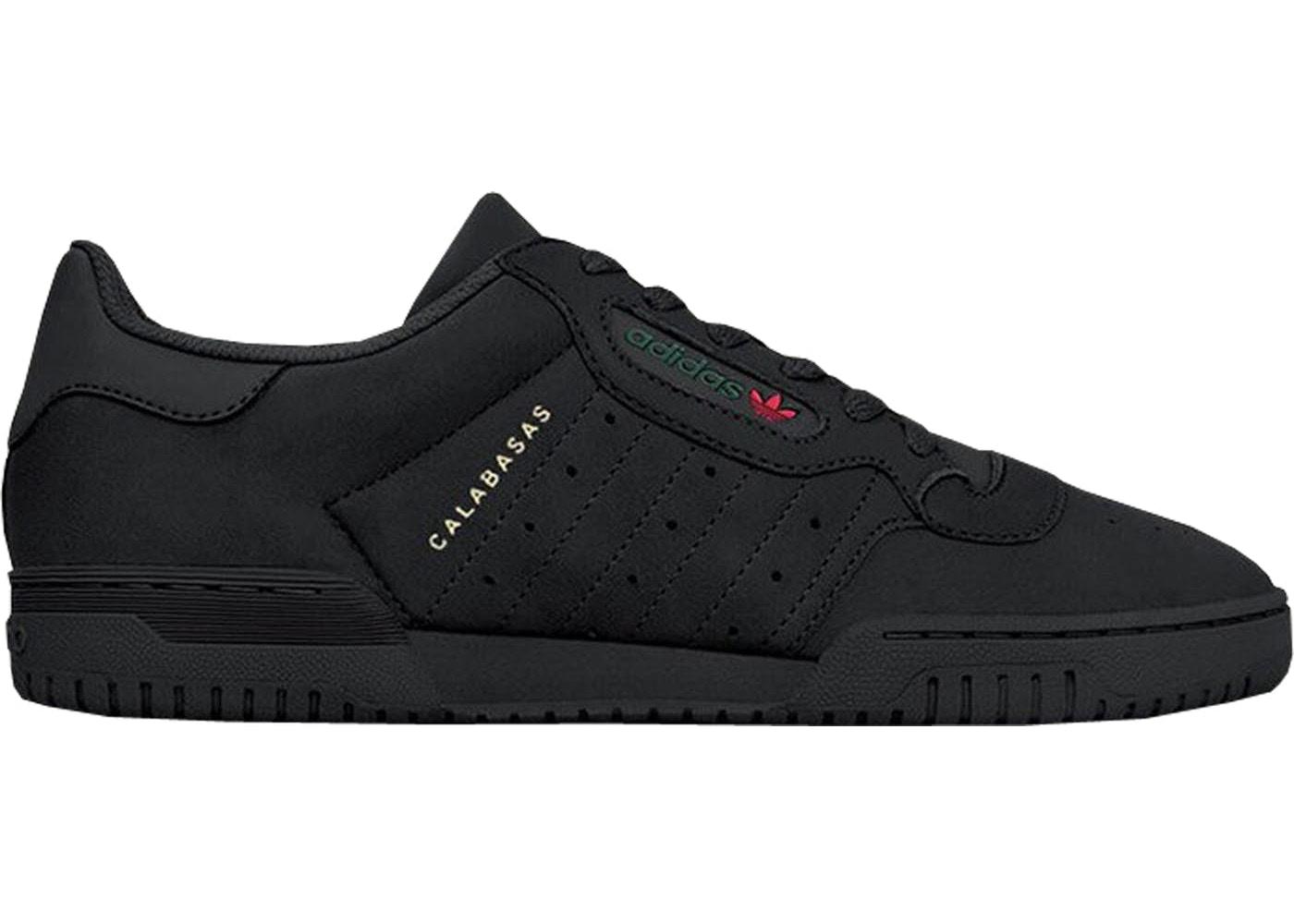 Men's Adidas Yeezy Powerphase Calabasas Core Black Size 11 Authentic