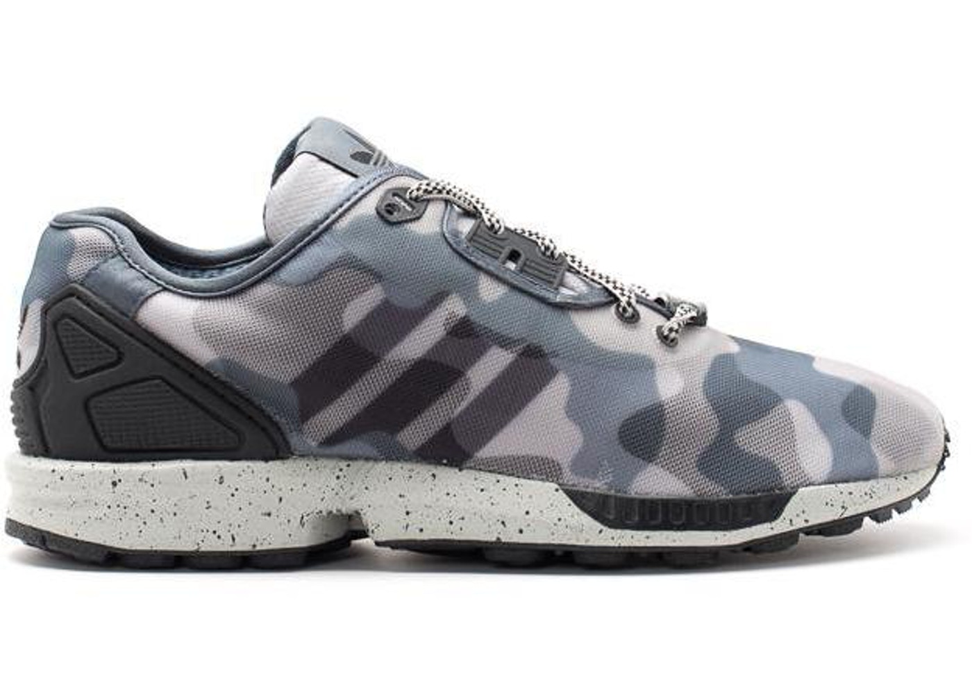 low priced d24cd 9f3a2 adidas ZX Flux Decon Gray Camo