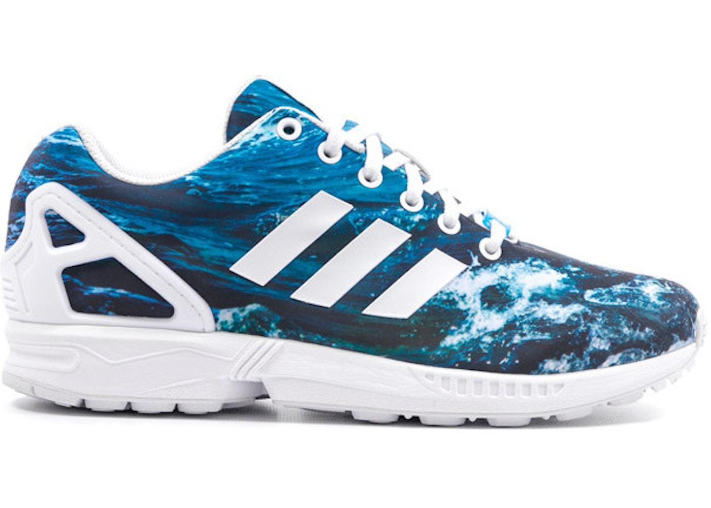 finest selection 32514 b0383 adidas ZX Flux Ocean
