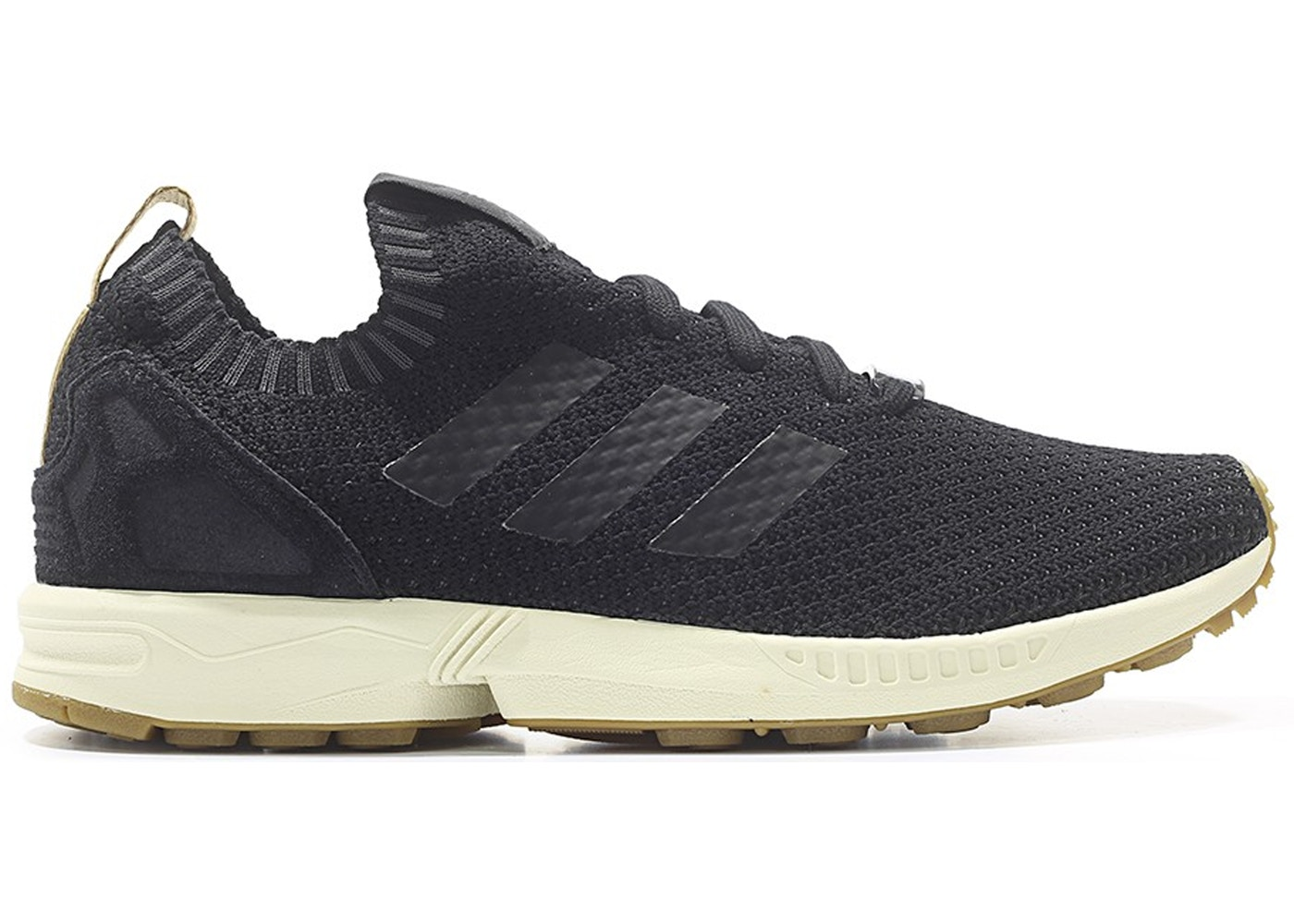 info for 510e9 a9fd4 adidas ZX Flux Primeknit Black Gum