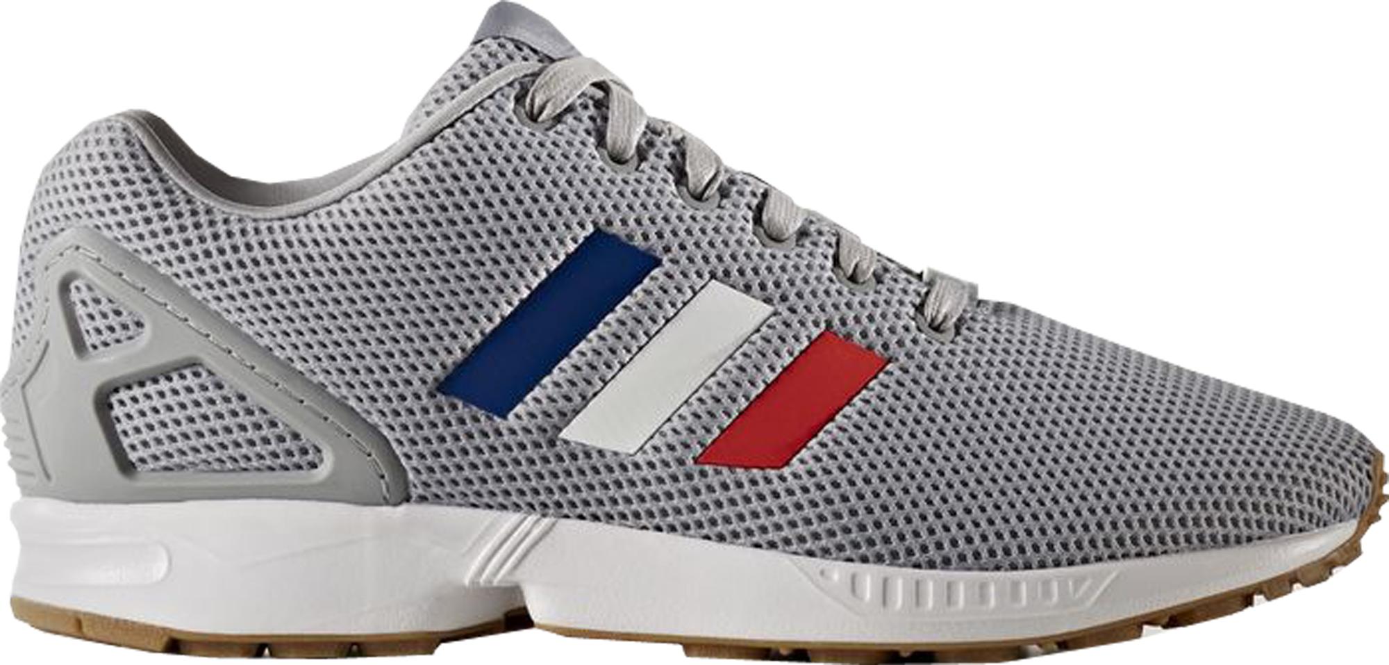 Adidas zx flusso tri - colore (grigio) bb2768 strisce