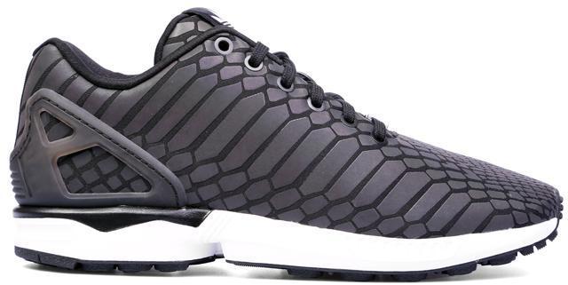 99ec4e21b wholesale adidas zx flux xeno triple black reflective all star 77fc6 ...