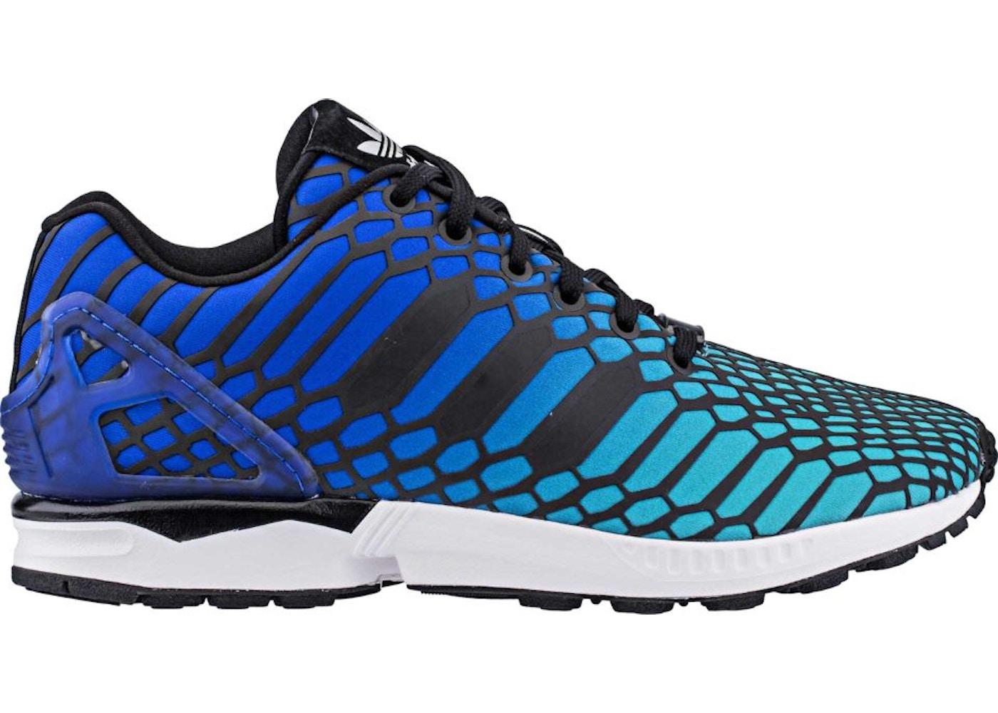 sleek top brands cheap adidas ZX Flux Xeno Bold Blue