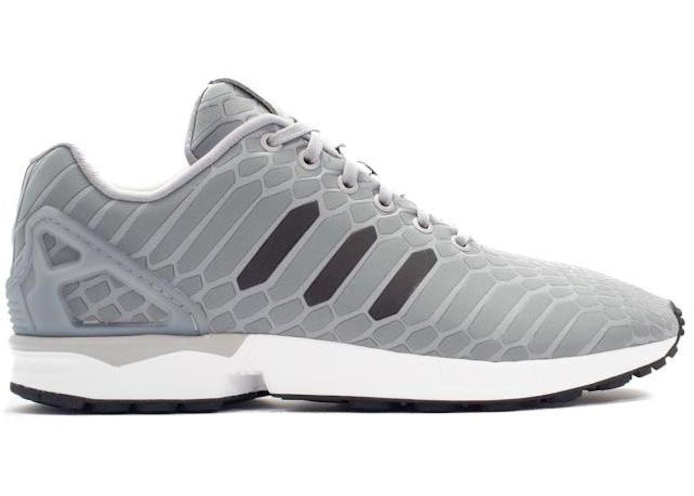 37a8248e4177a adidas ZX Flux Xeno Silver - B24442