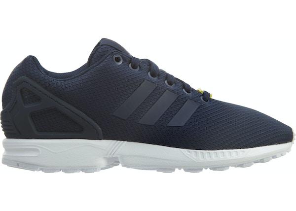 buy popular a8047 7462f adidas Zx Flux Dark Blue/Core White