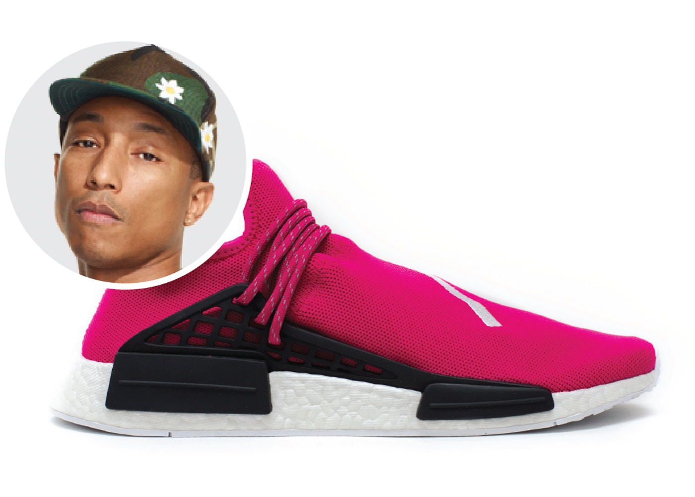 b404f9c9 Adidas Pharrell HU NMD Pink
