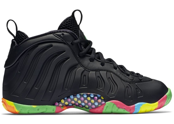 71e1d644022c0 Air Foamposite One Black Fruity Pebbles (GS)