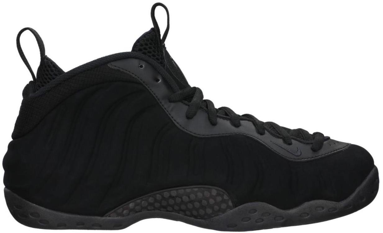 Air Foamposite One Black Suede