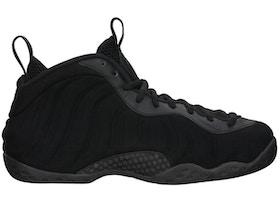 Nike Air Foamposite One Black Suede
