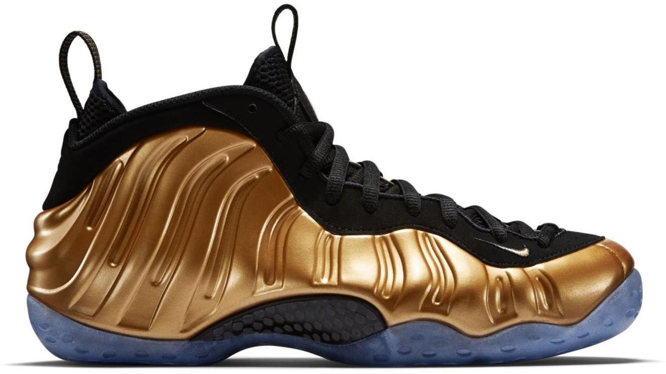 Air Foamposite One Metallic Gold