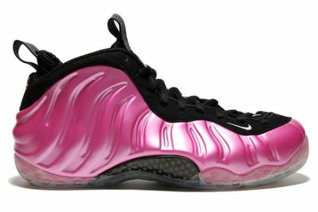 Air Foamposite One Pearlized Pink