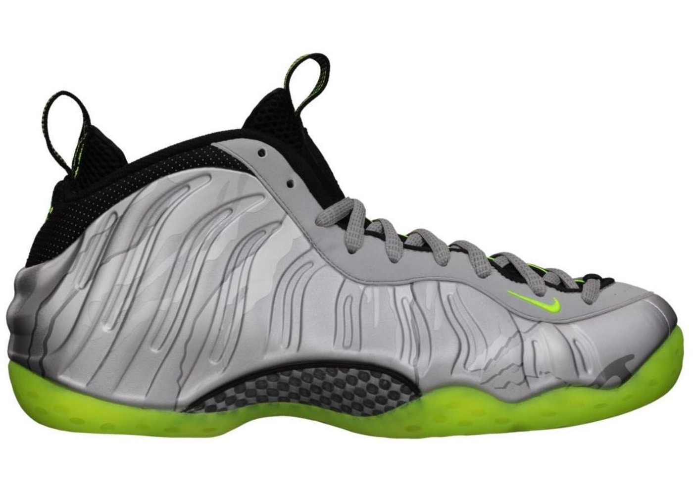 new concept fa16c 28b60 Air Foamposite One Silver Volt Camo - 575420-004