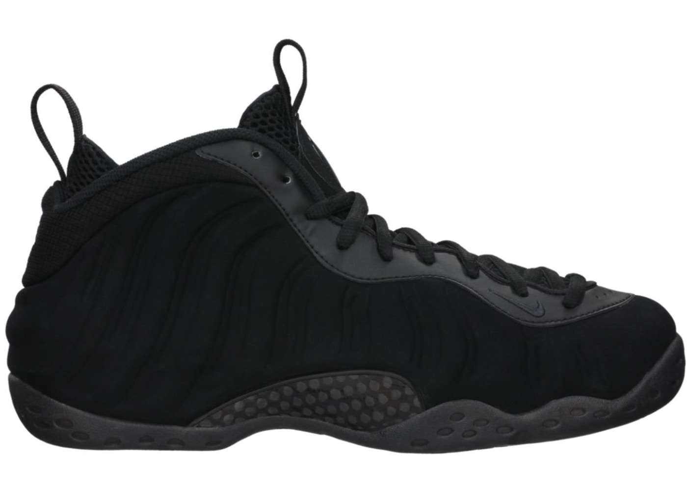 sports shoes a8069 add14 Air Foamposite Pro Black Suede