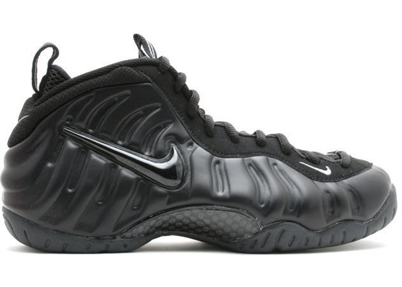 5b028c375b9 Air Foamposite Pro All Black - multiple