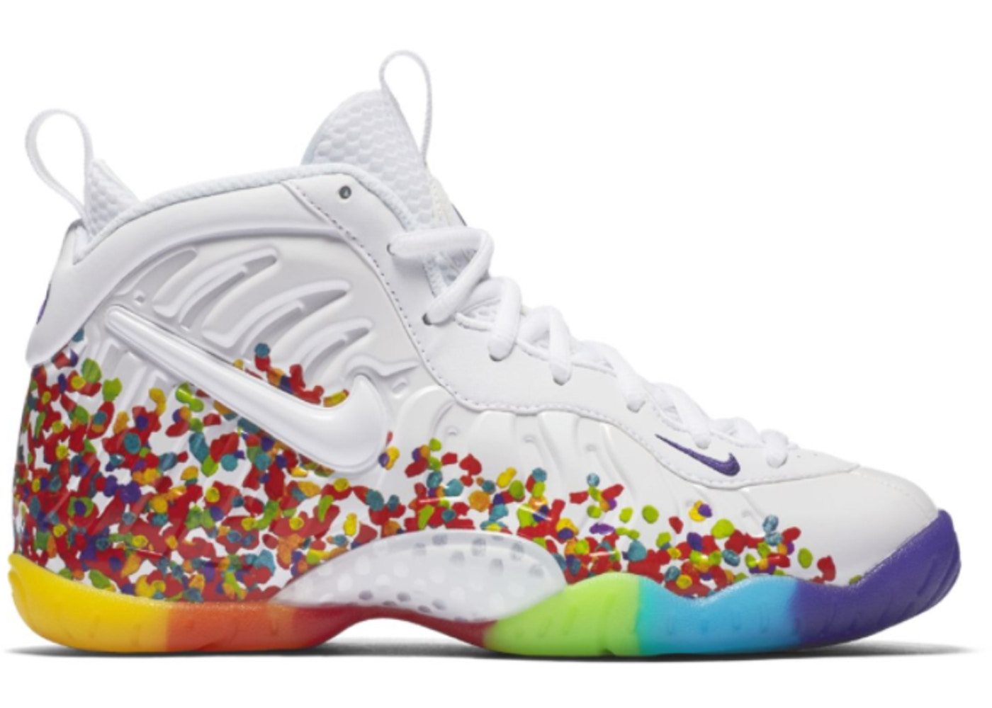 4977daf1cdc ... Air Foamposite One White Fruity Pebbles 2017 (GS)  Nike ...