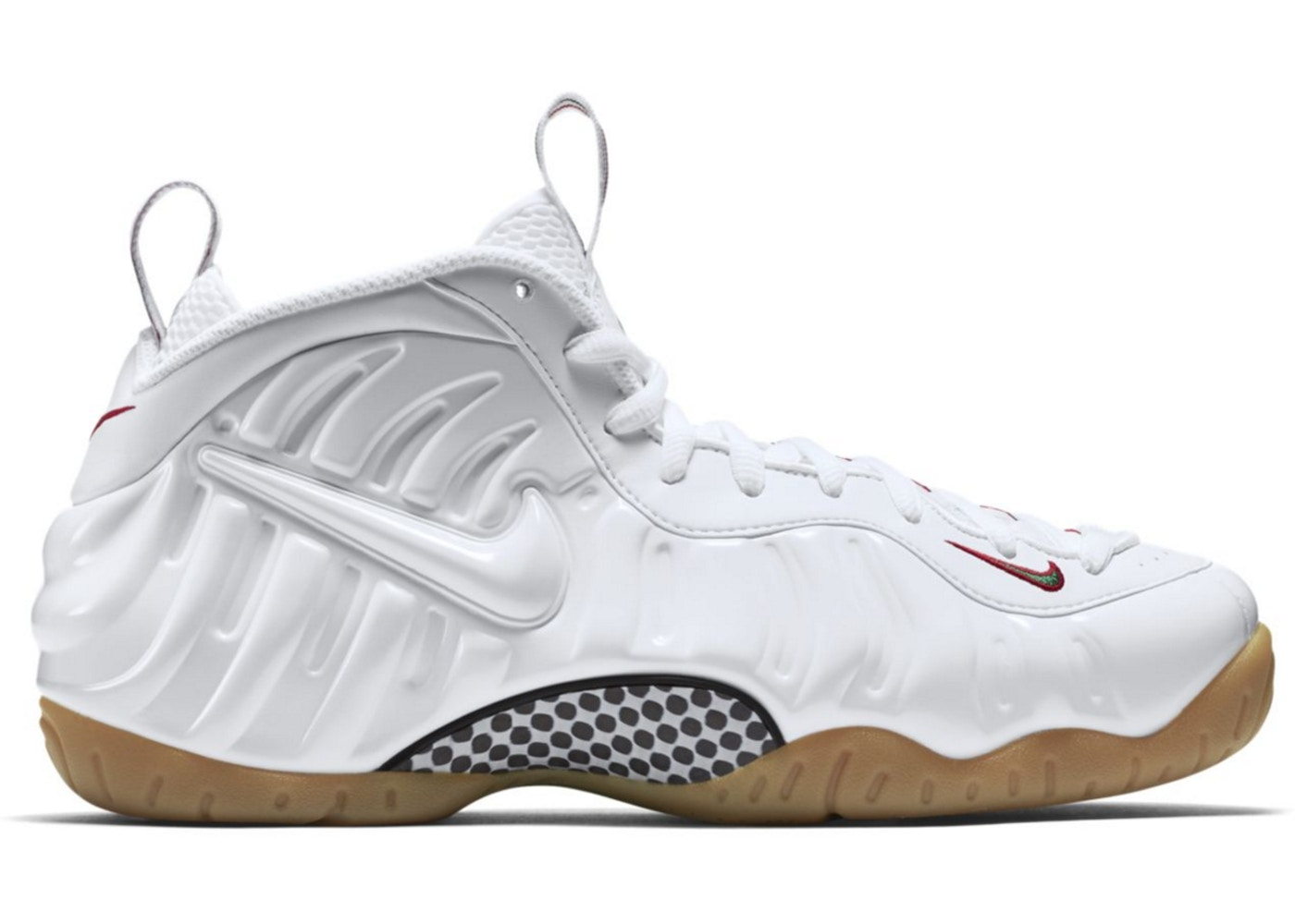 size 40 baab7 1cd8d Air Foamposite Pro White Gucci (GS)