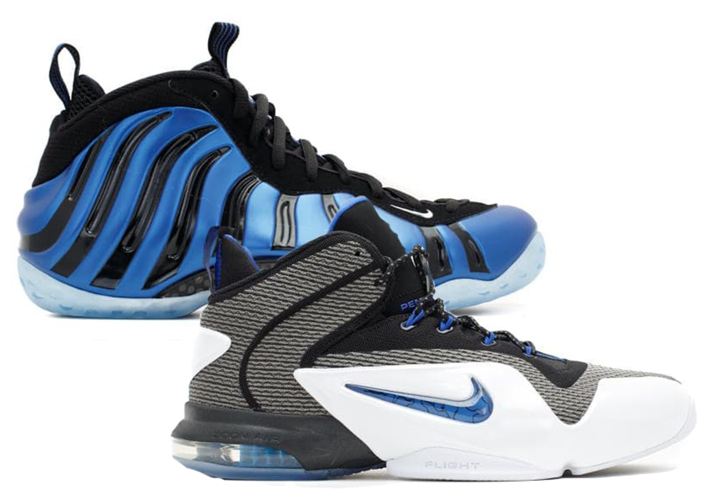 Nike Foamposite One Sharpie Pack Sneakers (Multi-Color/Multi-Color)