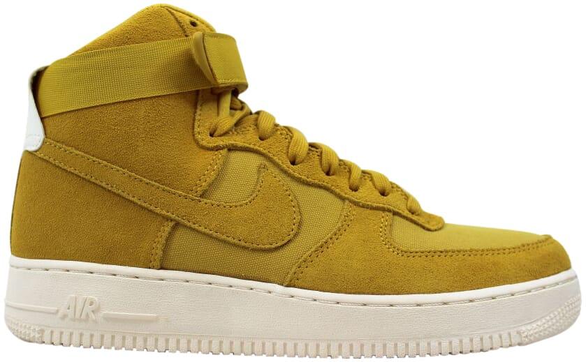 nike air force 1 beige yellow