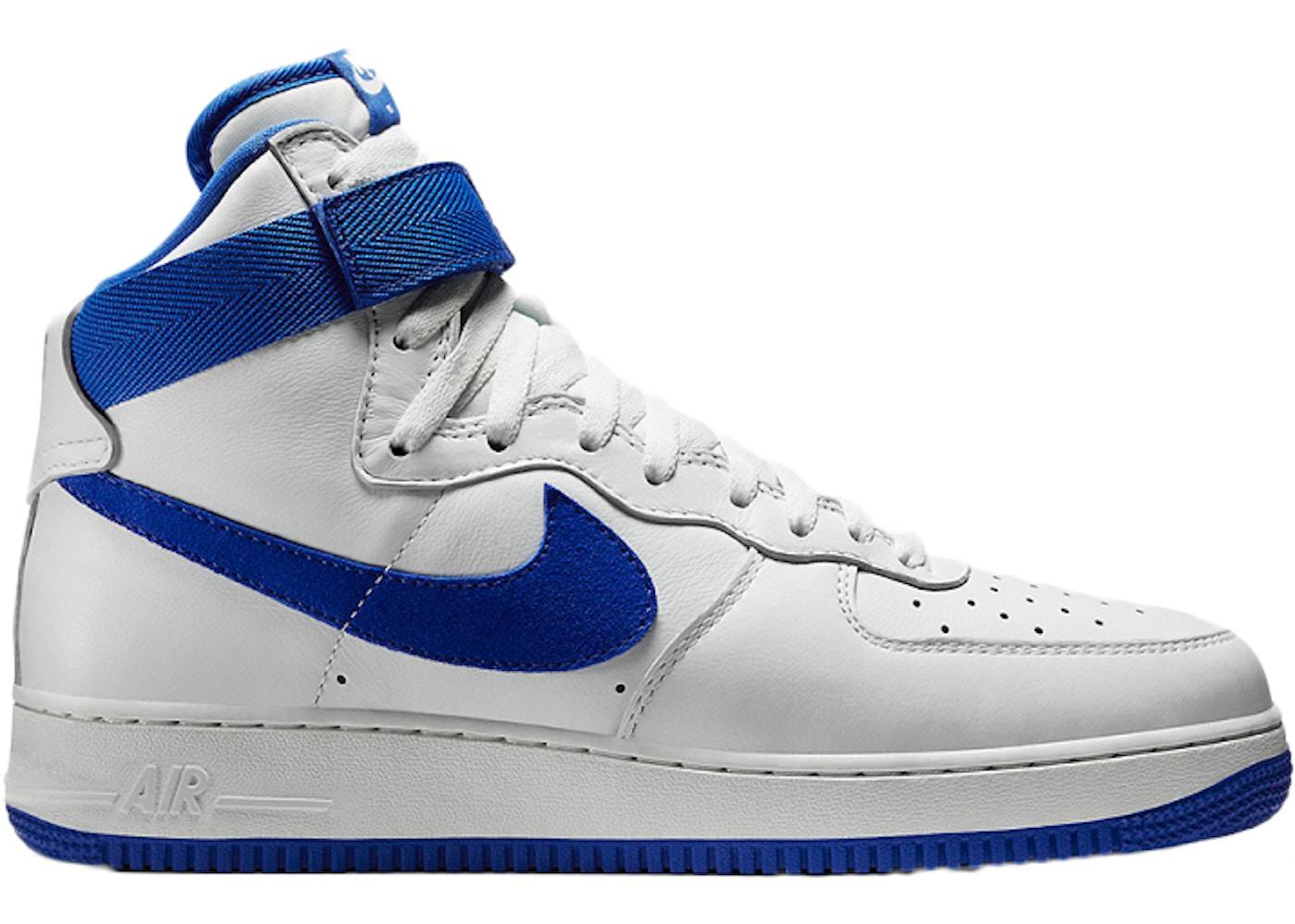 Nike Air Force 1 High White Game Royal 743546 103