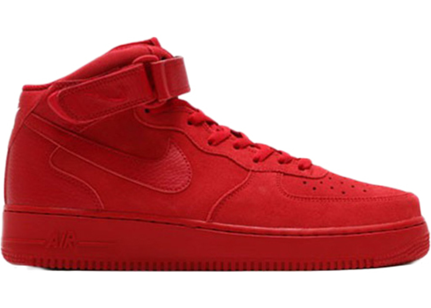 new style 07cb5 f477c Air Force 1 Mid Gym Red