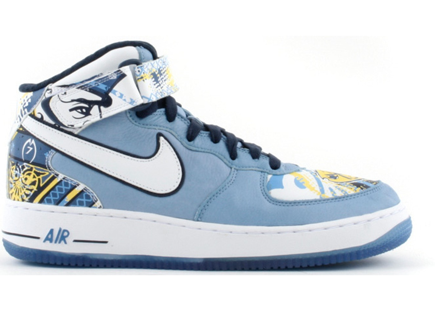 timeless design 0aae2 207fe Air Force 1 Mid Michael Vick - 313984-411