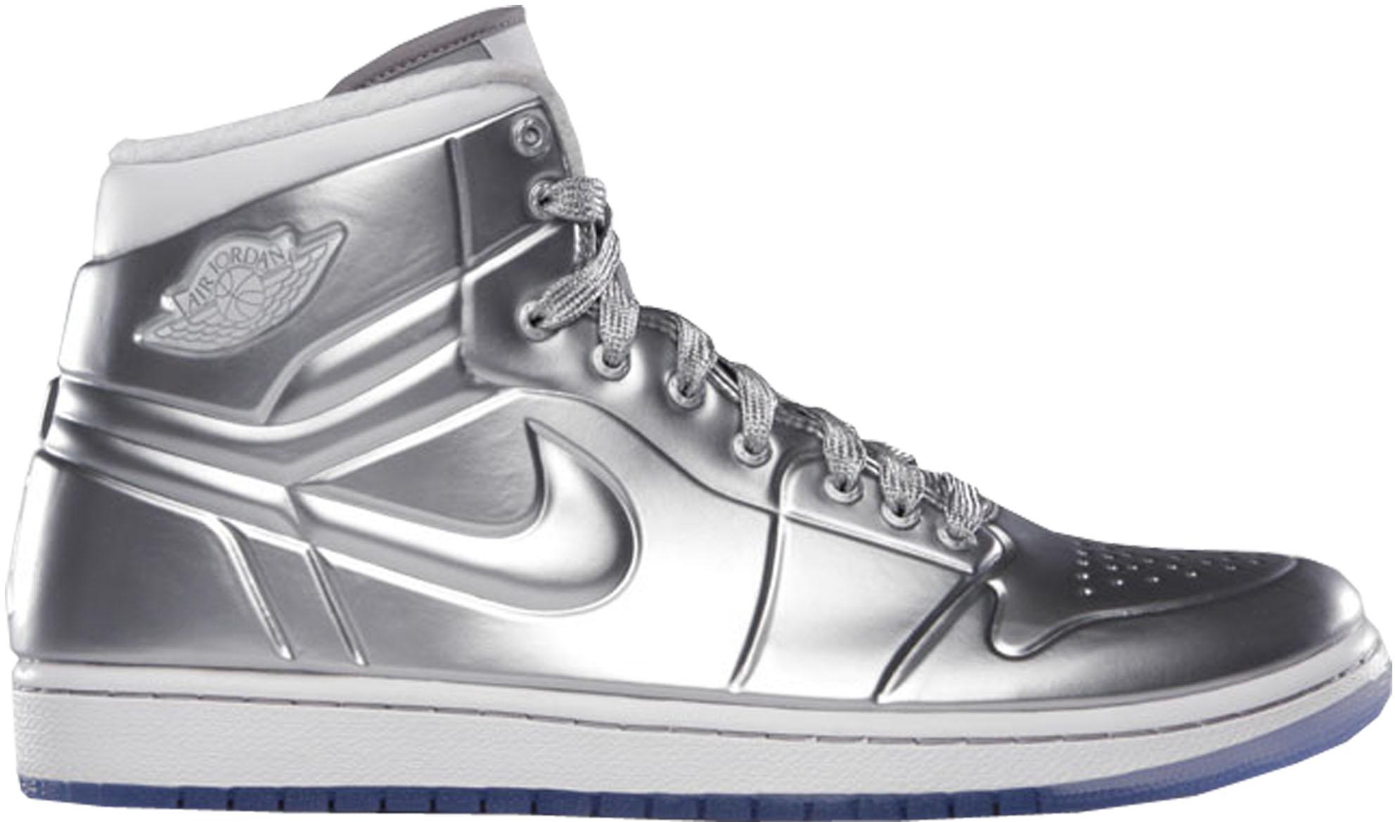 Jordan 1 Anodized Silver - 414823-001