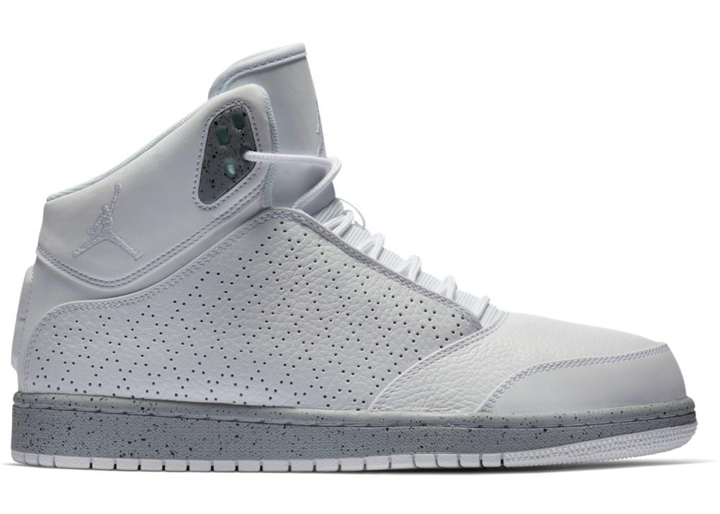 sports shoes 4b76d ac8a0 Jordan 1 Flight 5 White Wolf Grey