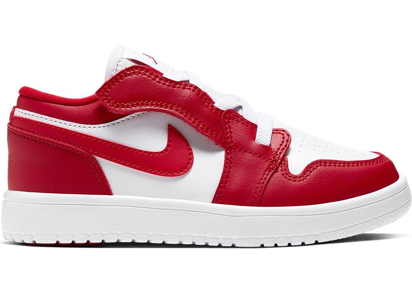 Jordan 1 Low Alt Gym Red White Ps Bq6066 611