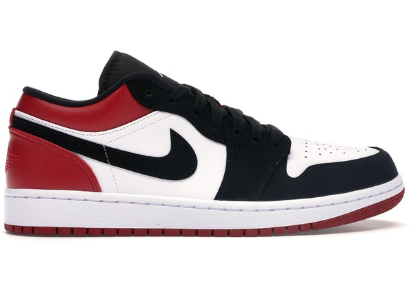 size 40 ac746 c673e Jordan 1 Low Black Toe - 553558-116