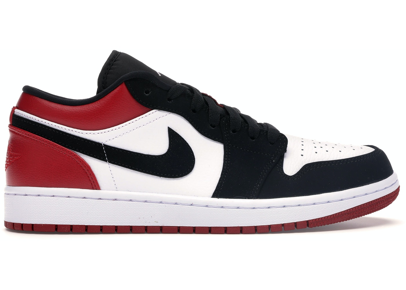 size 40 ccb77 70d35 Jordan 1 Low Black Toe - 553558-116