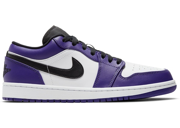 air jordan 1 low violet