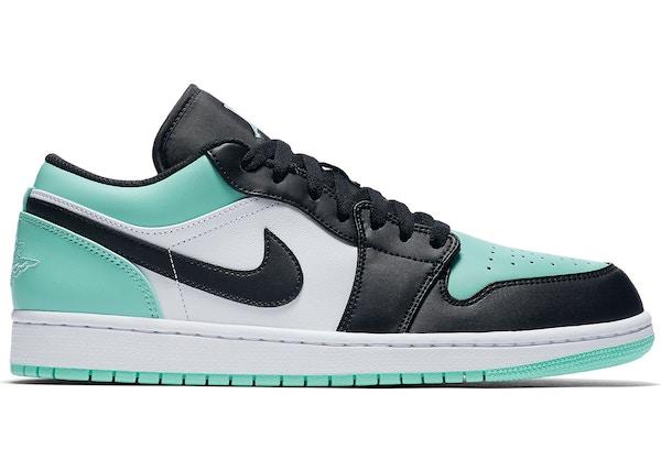 wylot klasyczne buty całkiem fajne Jordan 1 Low Emerald Toe