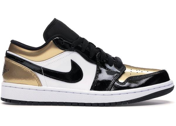 Jordan 1 Low Gold Toe