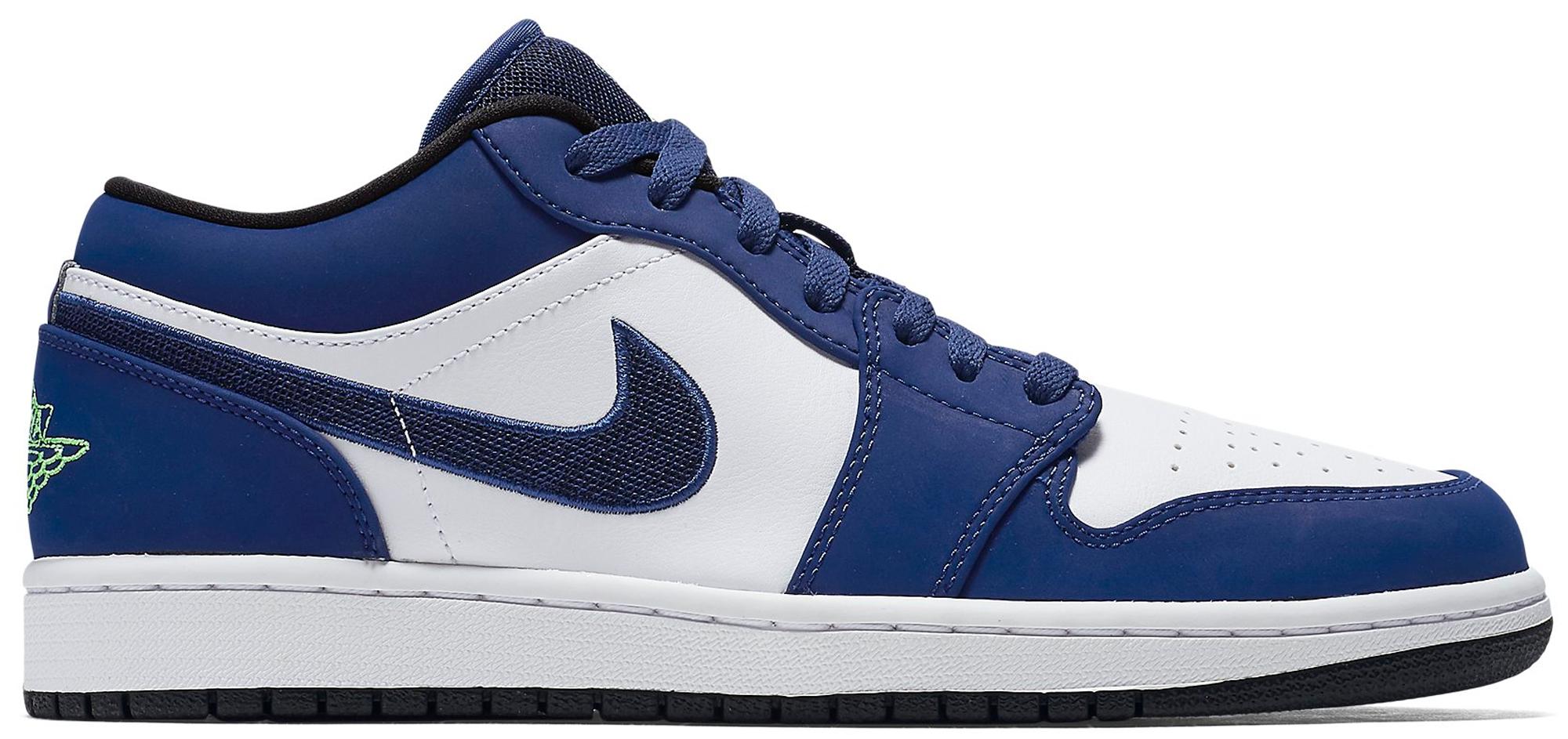 Jordan 1 Low Insignia Blue - 553558-405