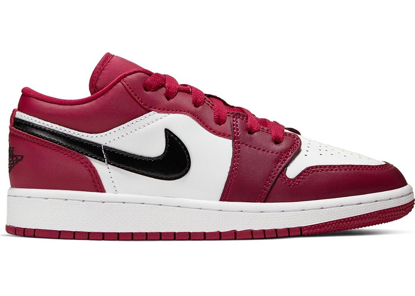 Jordan 1 Low Noble Red (GS)