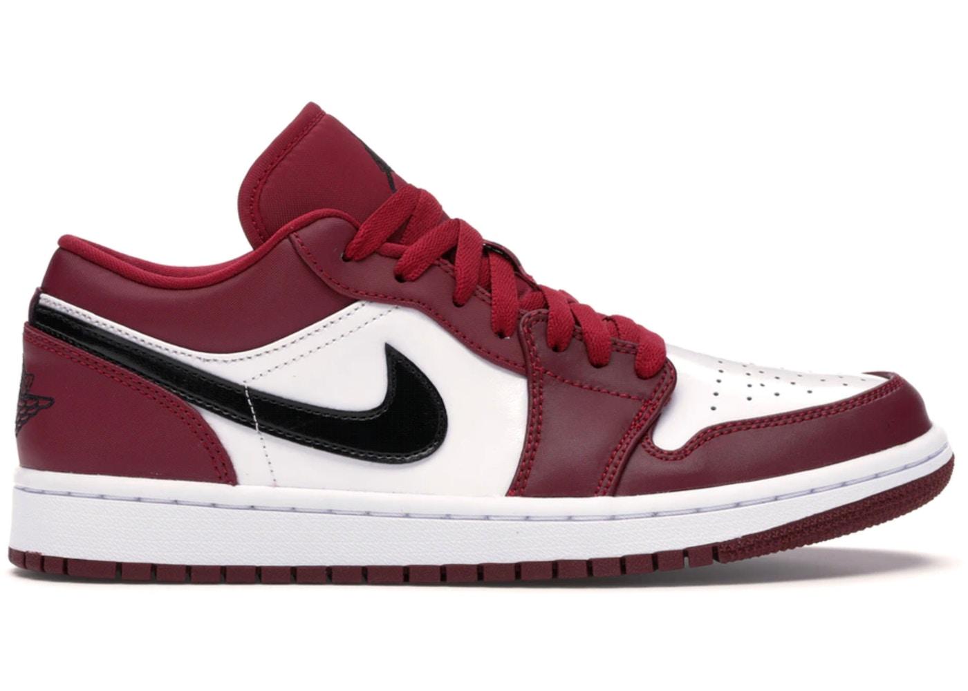 Jordan 1 Low Noble Red 553558 604