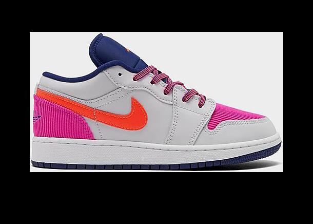 Jordan 1 Low Pink Corduroy (GS