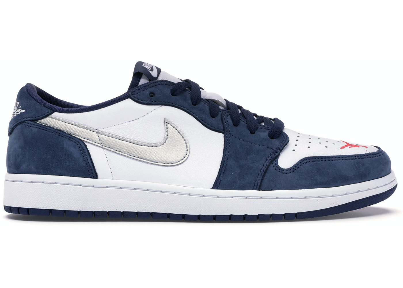 outlet store e03c3 bdb80 Jordan 1 Low SB Midnight Navy