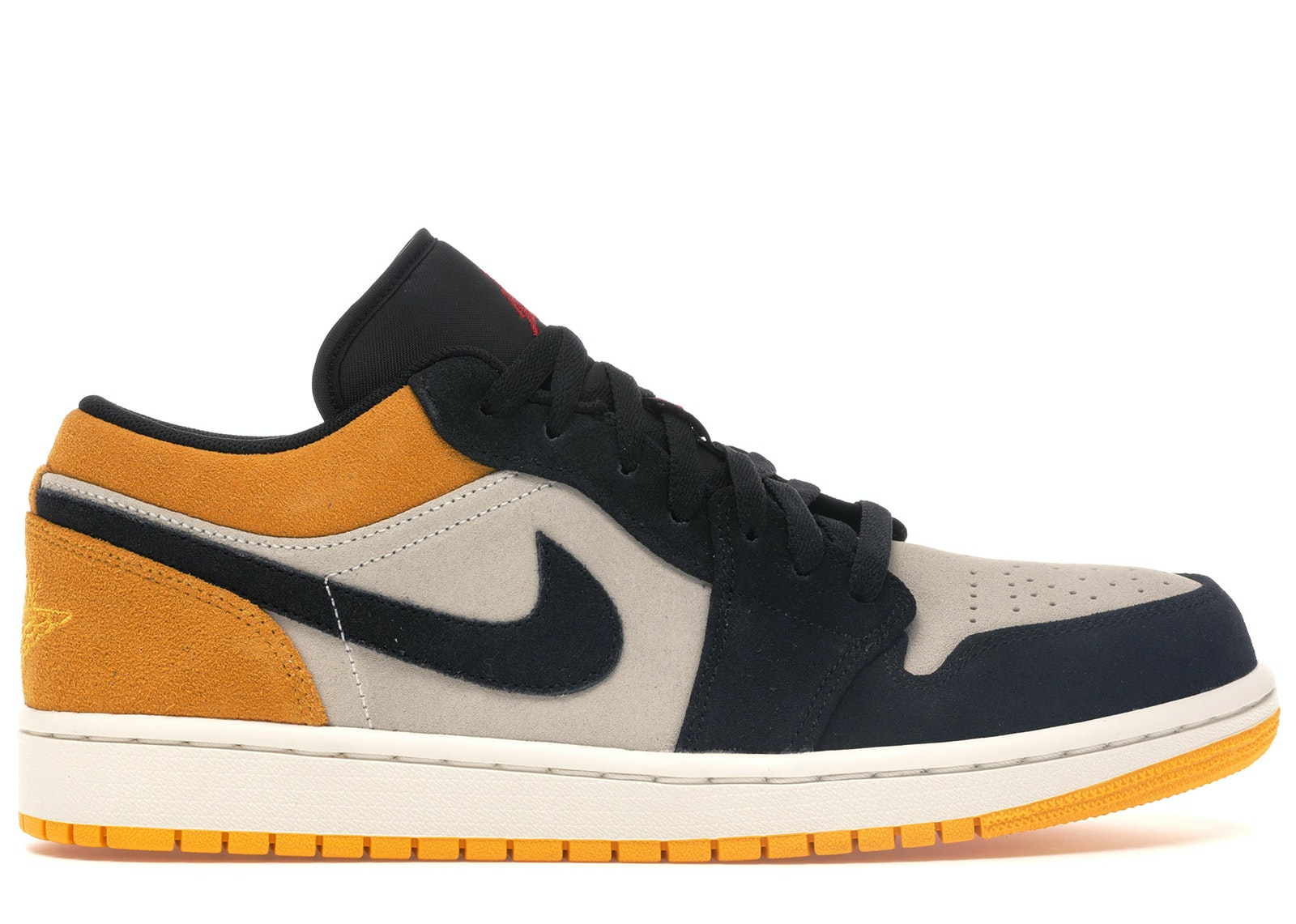 Jordan 1 Low Sail University Gold Black