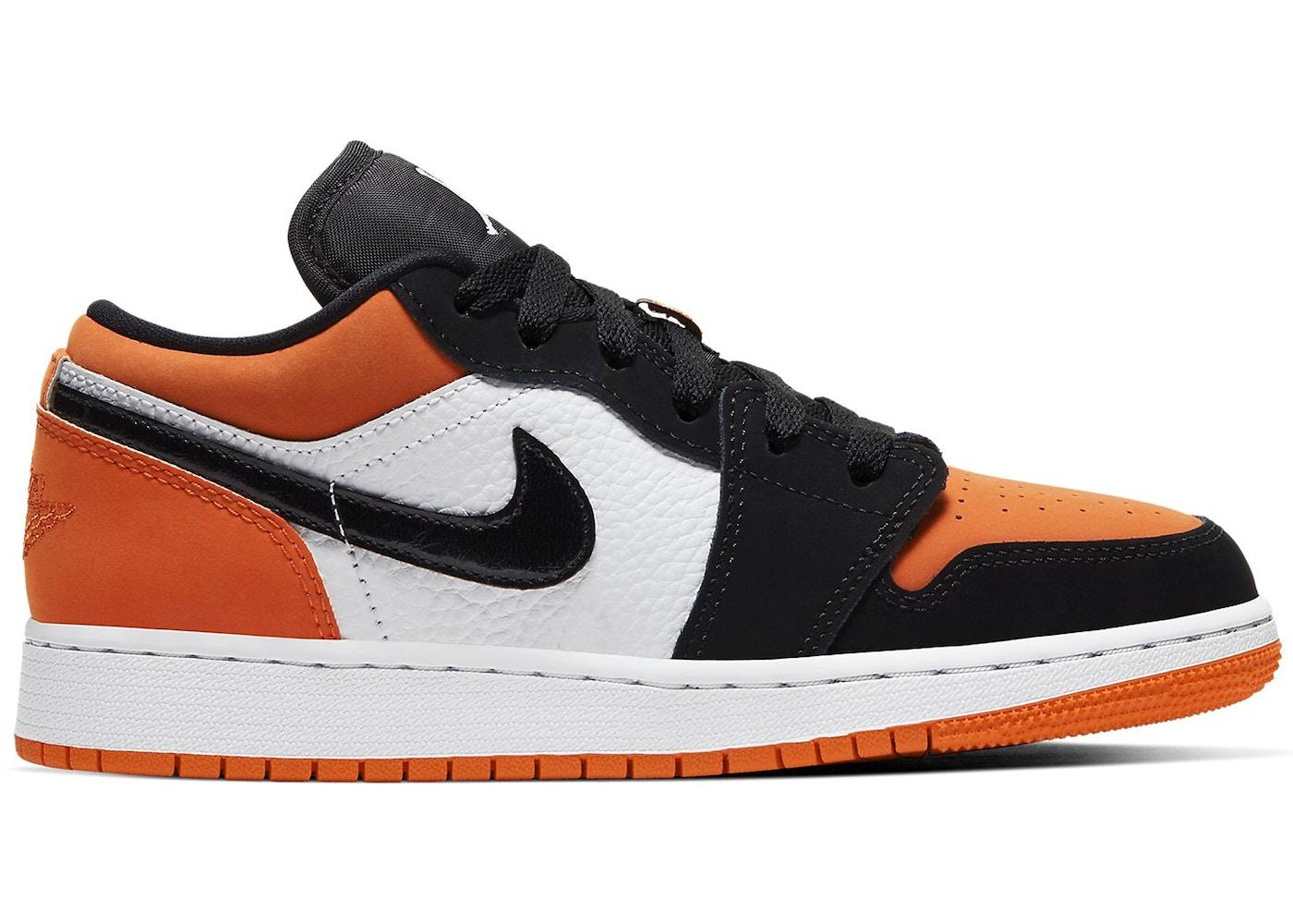 air jordan 1 low orange gs