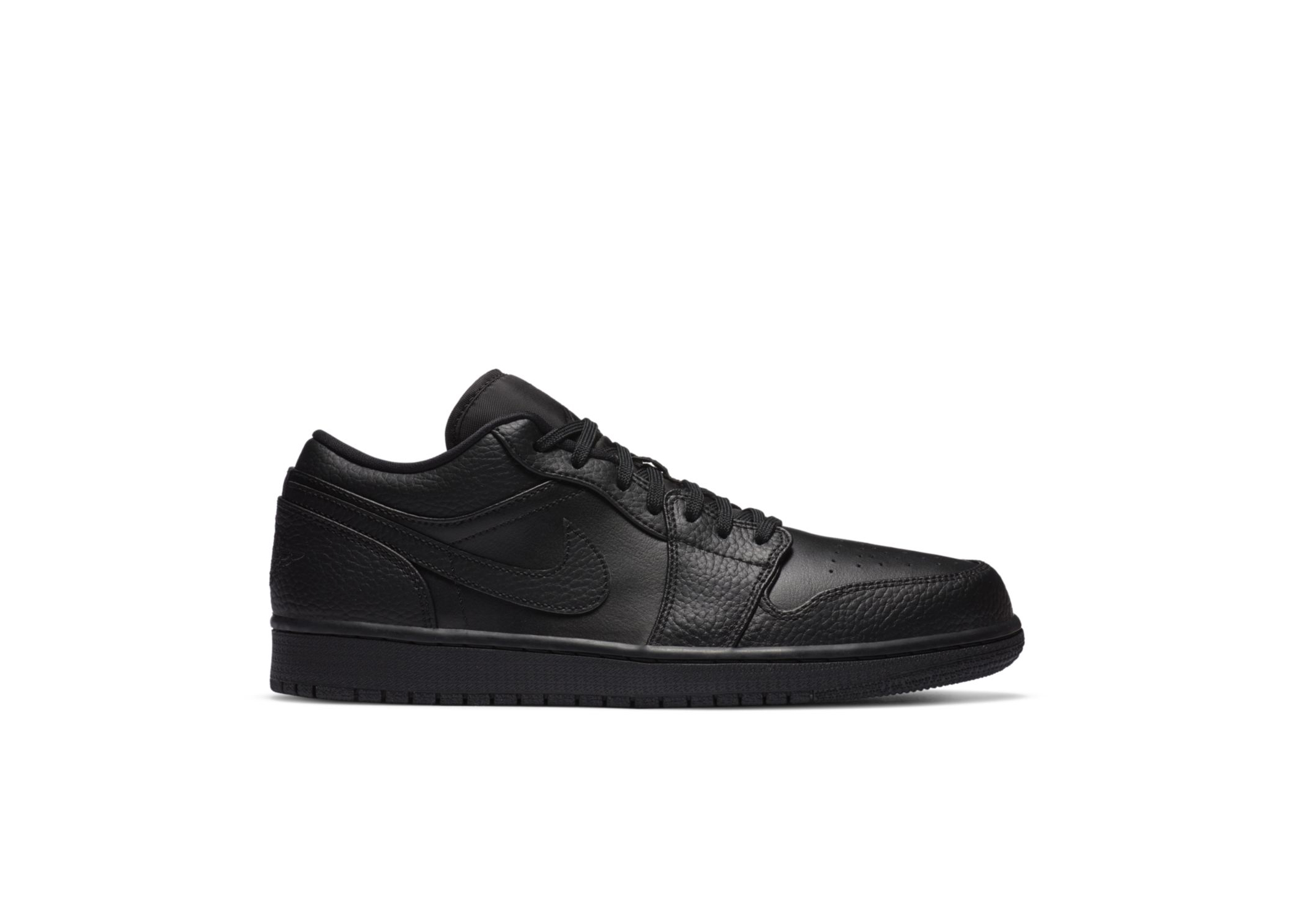 Jordan 1 Low Triple Black - 553558-091