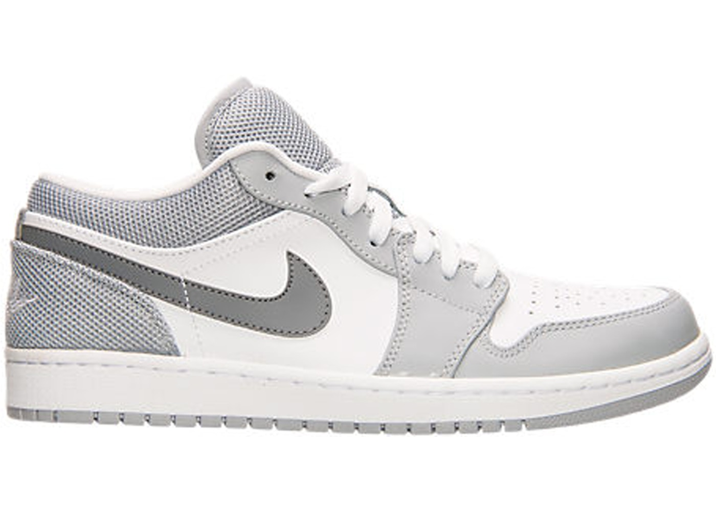 the latest 95b7b 2982e Sell. or Ask. Size  13. View All Bids. Jordan 1 Low White Cool Grey Wolf  Grey