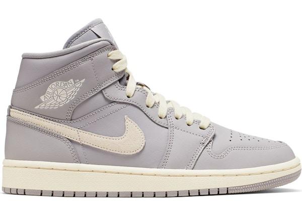 online retailer 2b2a9 e12c3 Jordan 1 Mid Atmosphere Grey Pale Ivory (W)